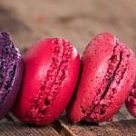 Macarons fraise basilic